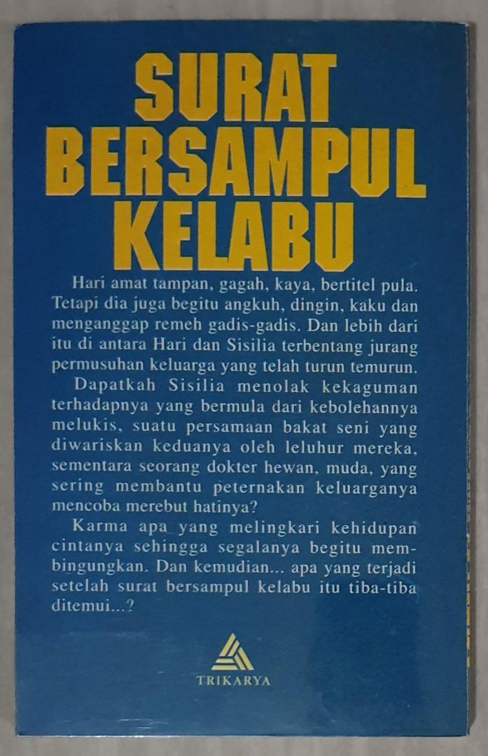 Novel Roman Indonesia Karya Maria A Sardjono 1 Set Isi 6
