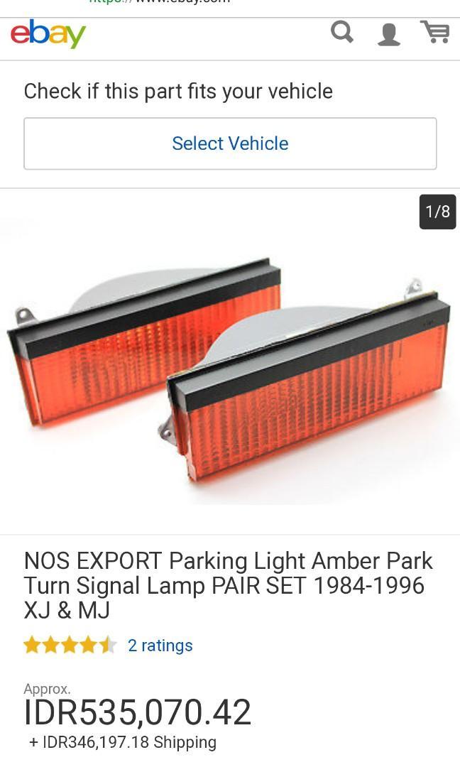 Nos exsport parking light amber park turn signal lamp. Cherokee 1984-1996 xj& Mj made in USA