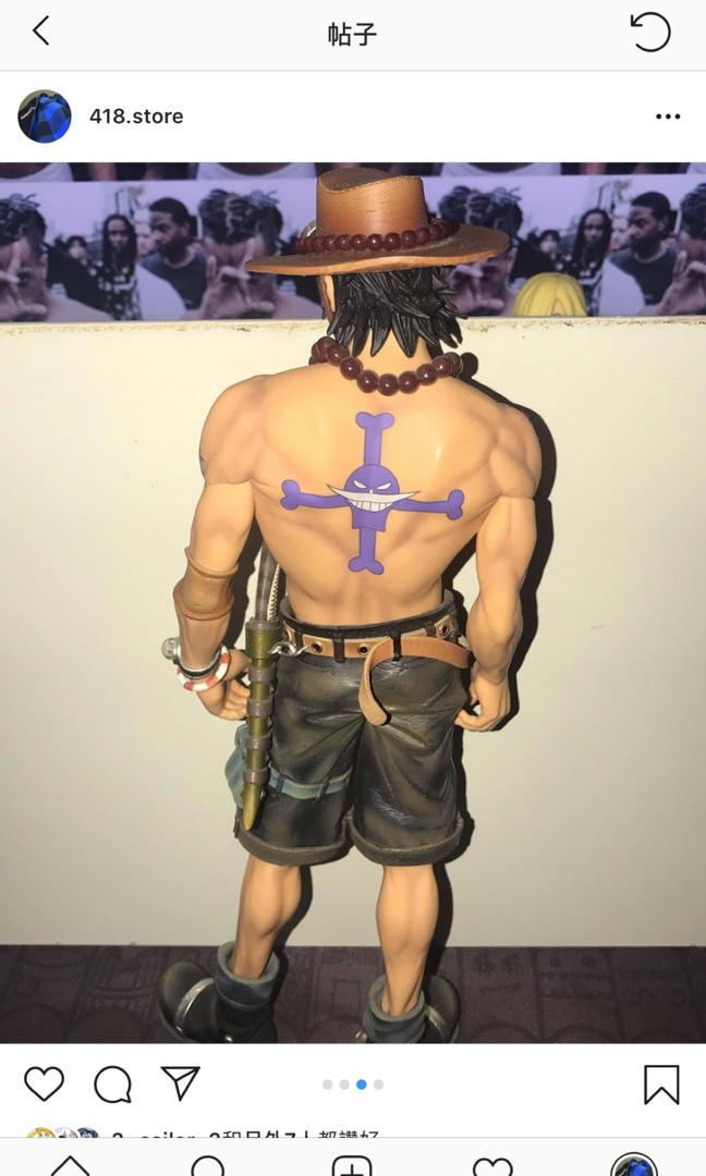 One Piece figure 海賊王 模型「波斯卡特.D.艾斯.海外限定」