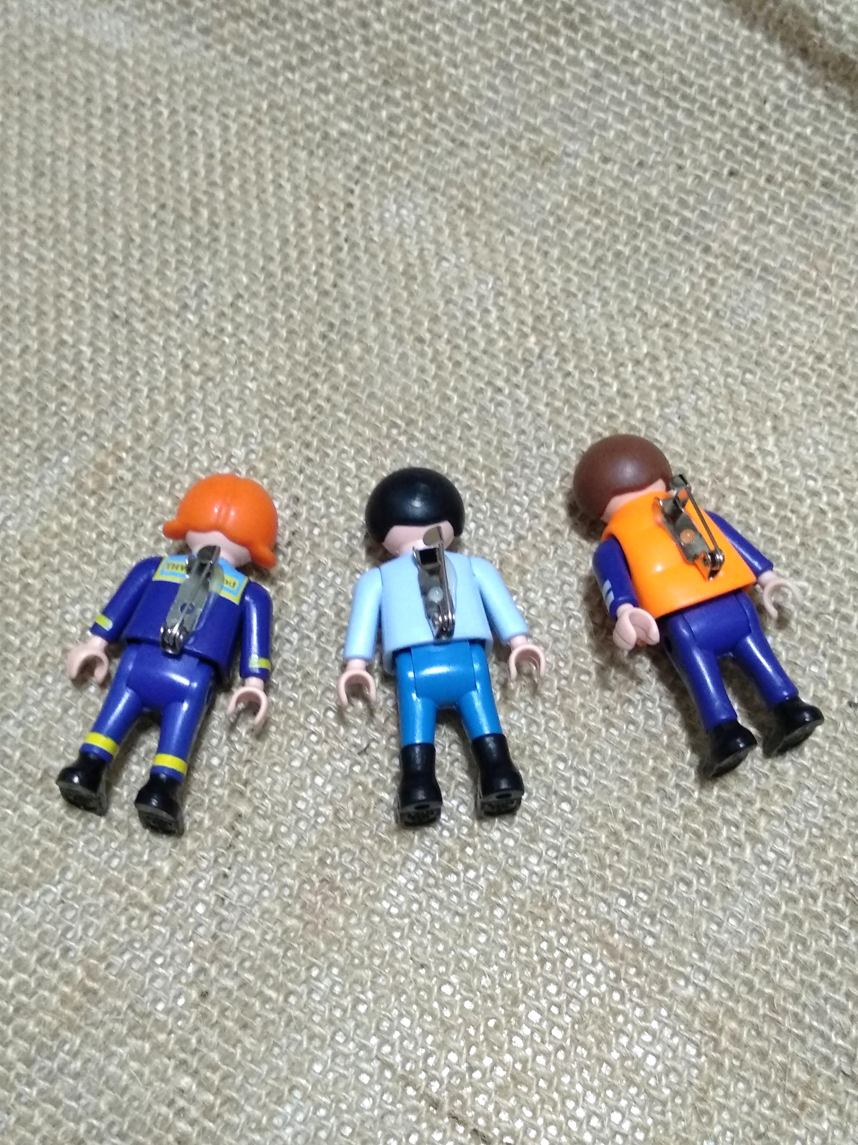 Play Mobil quirky brooches