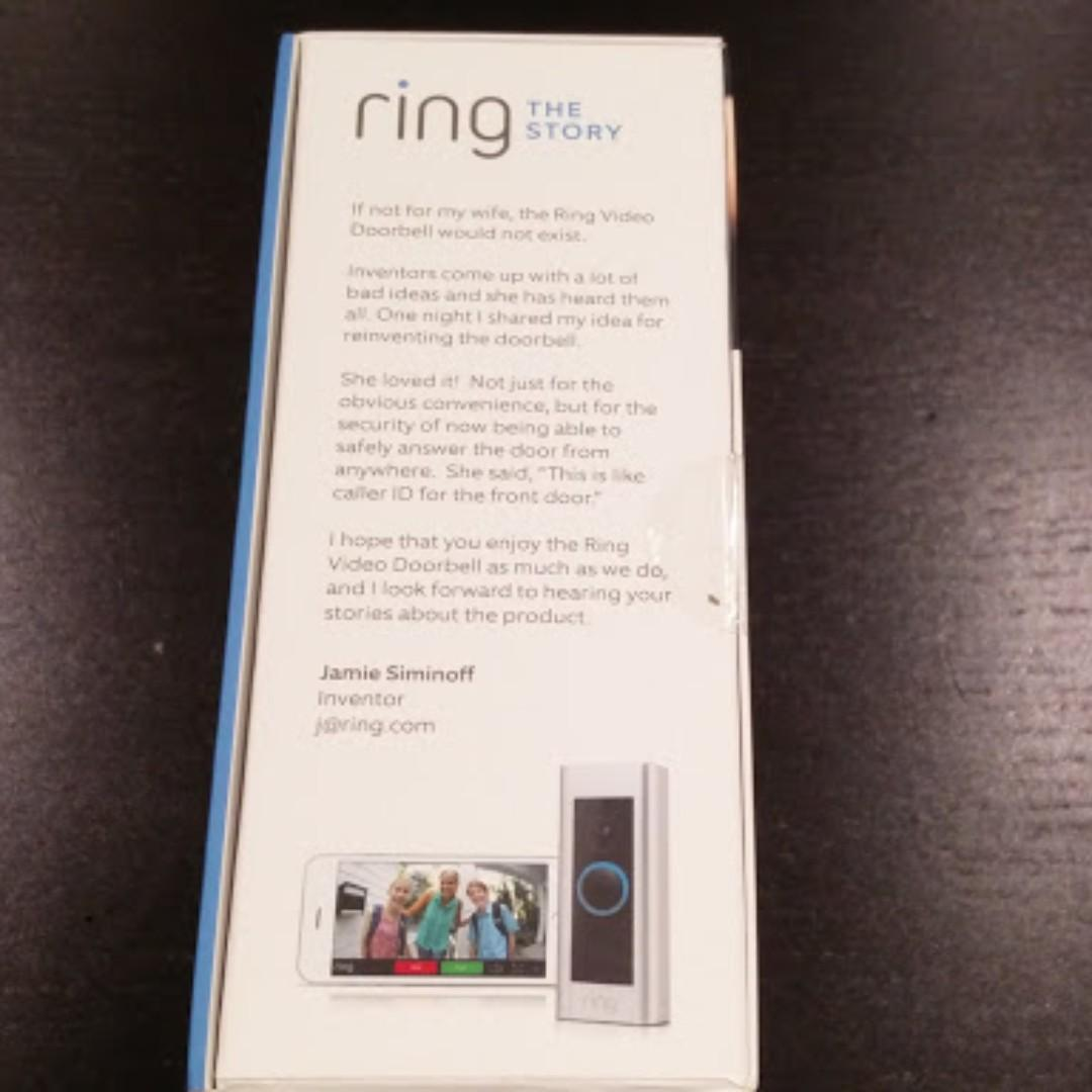 ring Video Doorbell Pro: NEW with seal