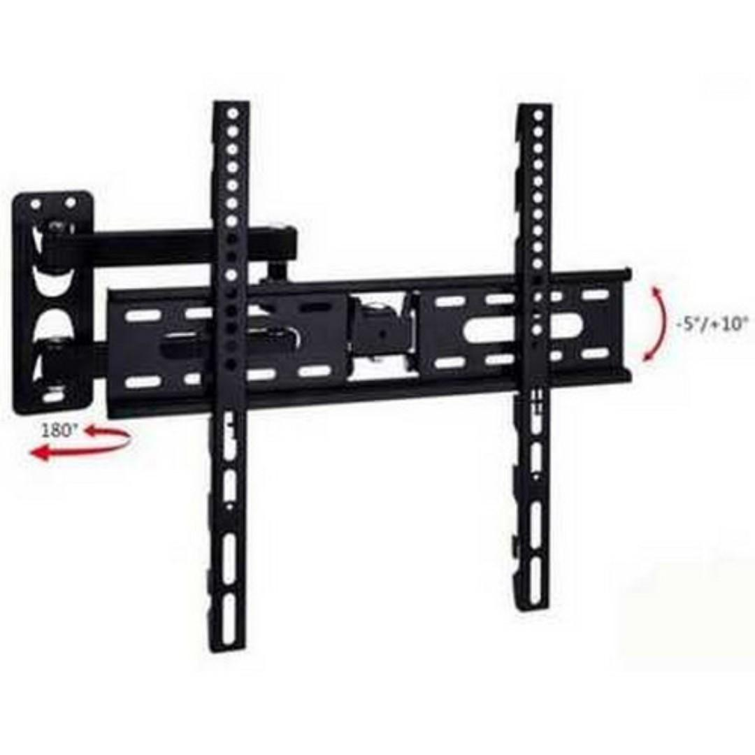 Telescopic TV Bracket 1.3m Thick 400 x 400 Pitch for 26-55 Inch TV TItanGadget