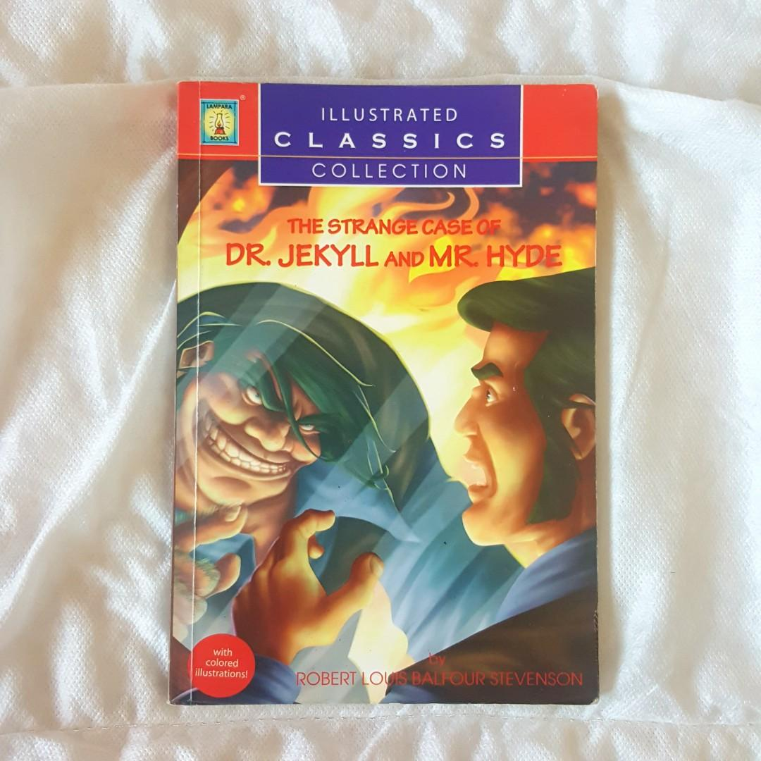 THE STRANGE CASE OF DR. JEKYLL AND MR. HYDE BY ROBERT LOUIS BALFOUR STEVENSON