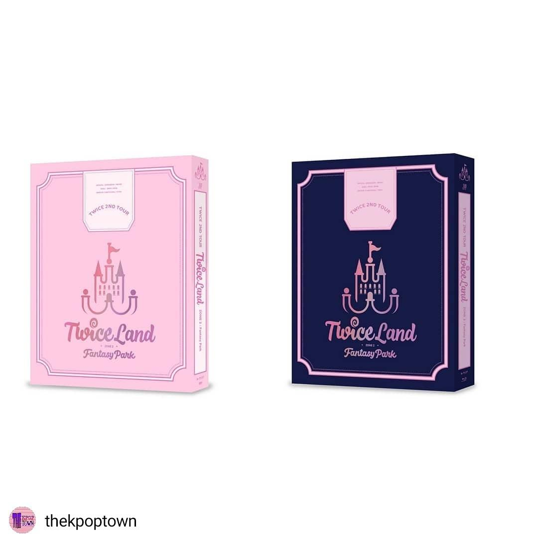 TWICE 2ND TOUR [TWICELAND ZONE 2:FANTASY PARK]  DVD/Blu-ray