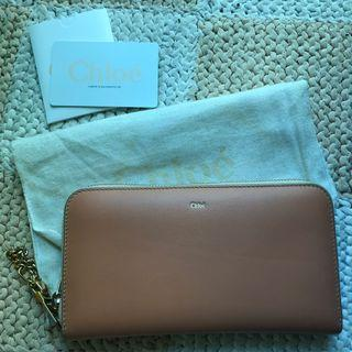 Chloe Bayley Zip Continental Wallet 95% NEW 拉鏈長銀包
