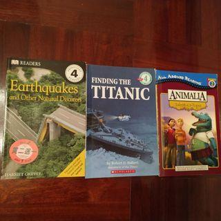 English books ×3