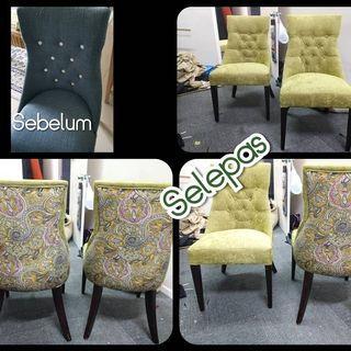 Repair sofa/kerusi makan