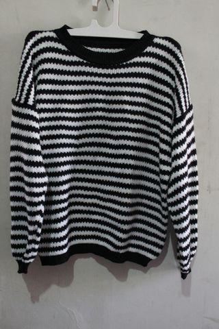 #maudandan Stripe sweater