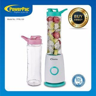 🚚 PowerPac PPBL100 Personal Blender with 2 X BPA Free Jugs