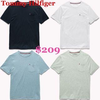 (On Sale!)Tommy Hilfiger Men Classic Pocket Tee
