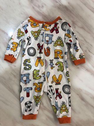 嬰幼兒拉鏈全包式上衣