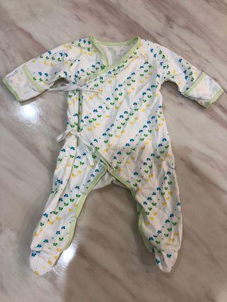 嬰幼兒純棉全包式上衣