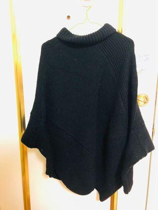#半價衣服拍賣會 黑色蝙蝠毛衣