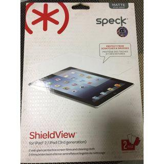 Speck for Apple Ipad matte 2 pcs screen protector BNEW