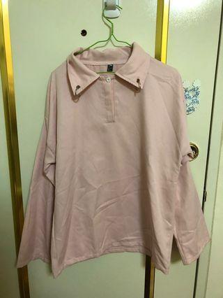 🚚 #半價衣服拍賣會 粉色上衣