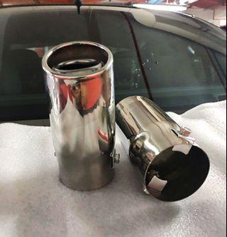 Chrome Finish Exhaust Tips