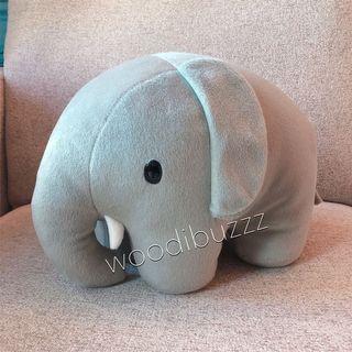 全新 Miffy Elephant 大象 毛公仔 Plush Toy Dick Bruna