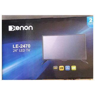 "30%OFF BNEW Xenon 24"" LED TV SEALED SRP P6,000"