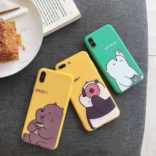 🚚 We Bare Bears iPhone cases