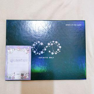 WTS Infinite <Infinite only> album with woohyun pb, woohyun & sungjong pcs