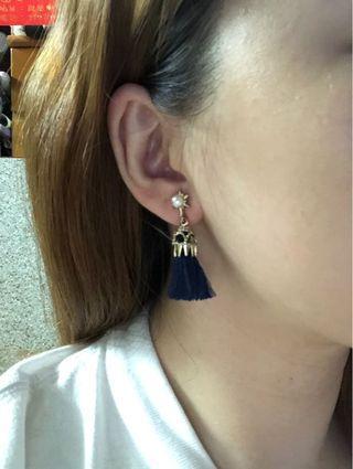 高貴流蘇耳環
