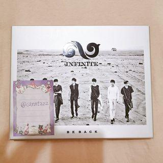 WTS Infinite <Be back> album with sungjong pc