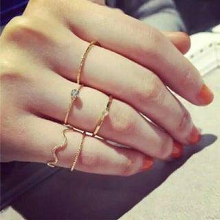5 Pcs of Korean Style Rings