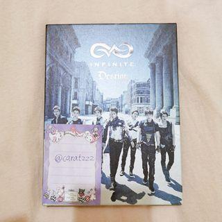 WTS Infinite <Destiny> album with sungjong pc
