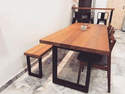 Customised Solid Wood Dining Table