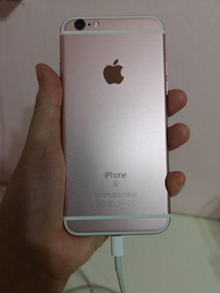 Preloved Iphone 6s Rose Gold
