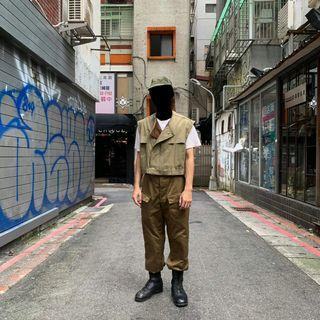 DEADSTOCK Vintage Soviet  1991 Worker  Trousers 古著 蘇聯 91年工作褲