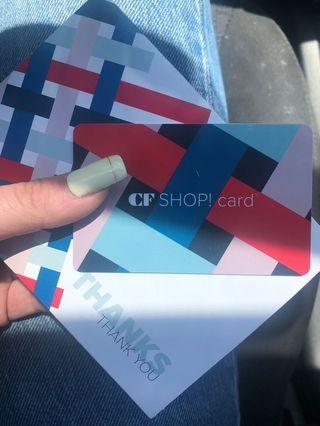 CF GIFT CARD $260