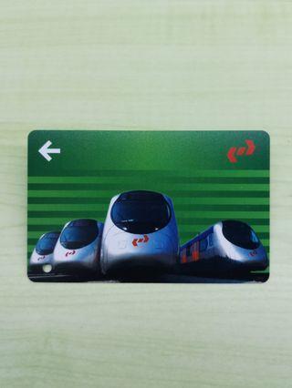 紀念車票 KCR九廣鐵路