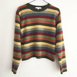 Striped Sweater Sz S