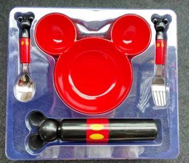 👉(預購)米奇不鏽鋼餐具組