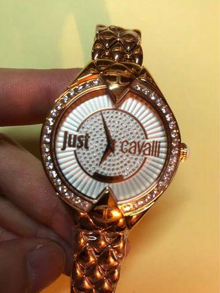 Just Cavalli Women's R7253590503 Sphinx Gold Stainless steel Band Watch