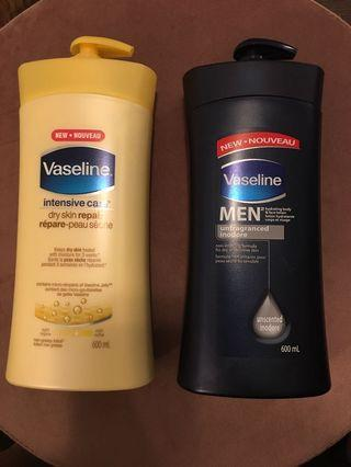 Vaseline body lotion - only Black bottle