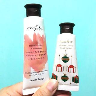 Innisfree Hand Cream 2 pieces