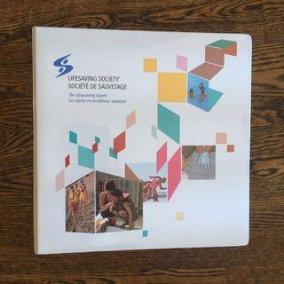 Lifesaving Society Binder with Booklets