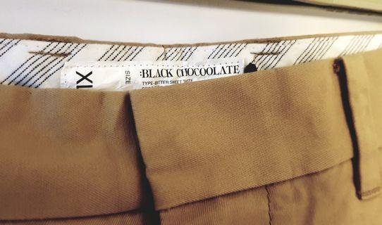 BLACK CHOCOOLATE SHORTS Size XL
