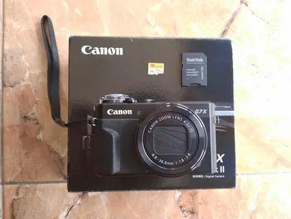 Kamera Canon PowerShot G7 X Mark II