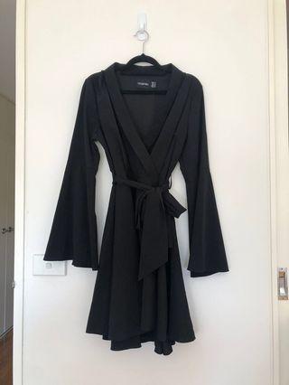 Mossman Black Dress Size 12