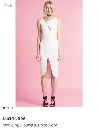 🚚 BNWT LUCID The LABEL Ivory Dress