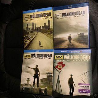 The Walking Dead Season 1-4 Blu ray