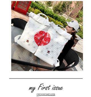 [ ADIDAS ] Adidas x Issey Miyake 3D Urban Mesh Roll Top Couple Backpack Bag #adidas #Unisex #bags #backpack