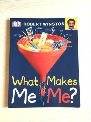 DK What Makes Me Me 英文圖書(90% new) ( Great way to spend your summer)