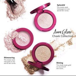 Brand New Auth Vice Aura Glow Cheek Collection