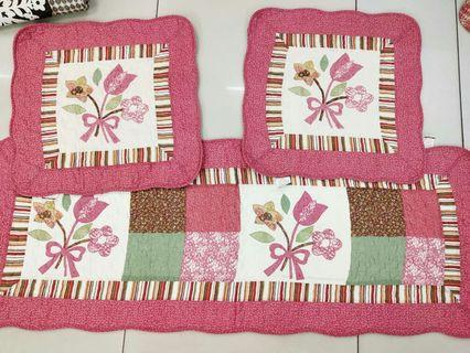 Carseat patchwork