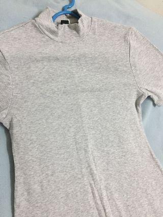 Grey dress #JuneToGo