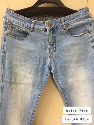 Denim jeans #JuneToGo